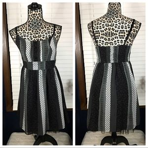 Ezra Boho Banded Waist Dress Small
